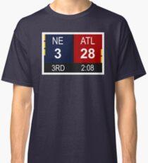 NE 3 vs ATL 28 Champions Comeback Classic T-Shirt