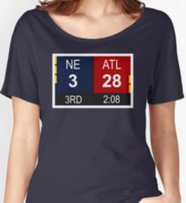 NE 3 vs ATL 28 Champions Comeback Women's Relaxed Fit T-Shirt