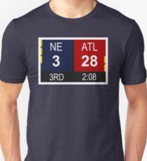 NE 3 vs ATL 28 Champions Comeback Unisex T-Shirt