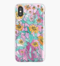 Zinnias  iPhone Case/Skin