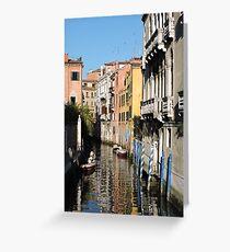 Venice Serenity Greeting Card