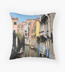 Venice Serenity Throw Pillow