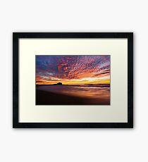Nobbys Beach, Newcastle Framed Print