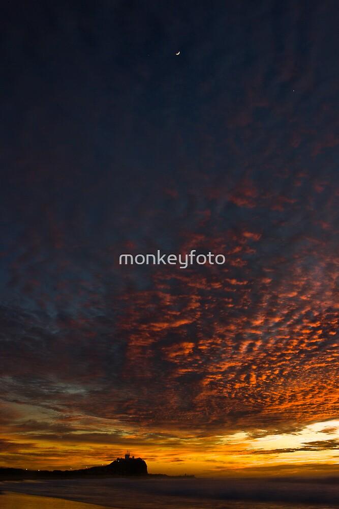 Nobby's Moon by monkeyfoto