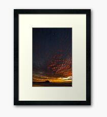 Nobby's Moon Framed Print