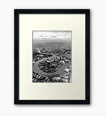 The Isle of Dogs Framed Print