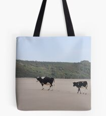 Cows Go On Holiday Too Tote Bag