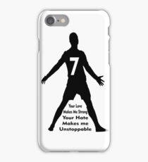 CRISTIANO RONALDO QUOTES iPhone Case/Skin
