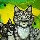 Two More Cats by Lynnette Shelley