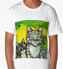 Two More Cats Long T-Shirt