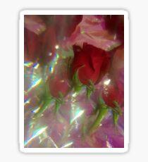 Sparkle Roses Sticker