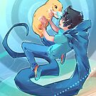 John & Casey by Blimpcat