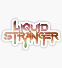 Liquid Stranger logo Sticker