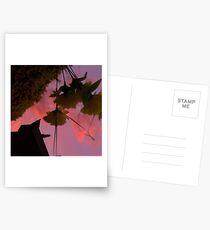 Pink flowers Postcards