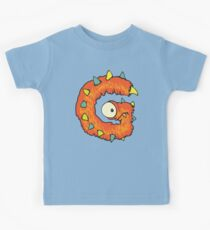 """My Little Monsters Letter """"G"""" kids t-shirt Kids Clothes"""
