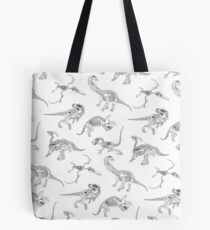 Palaeontological. (B&W) Tote Bag