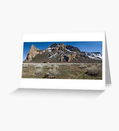 Driggs Mansion Ruins, Unaweep Canyon, Colorado Greeting Card