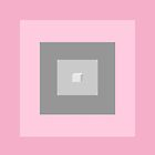 4am pink and grey blocks #2 by Ana Moreira