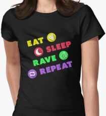 Eat Sleep Rave Repeat - Electronic Dance Music Show T-Shirt