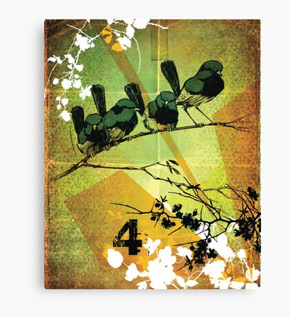 converse tree Canvas Print