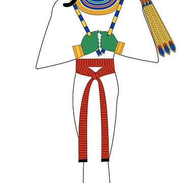 Egyptian God Of The Underworld Osiris by CRWPROD