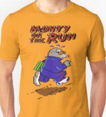 Monty On The Run Pixel Art Unisex T-Shirt