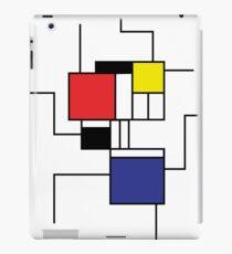Mondrian style iPad Case/Skin