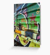Boxcar Star Greeting Card