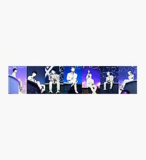 MonstaX on Stage Photographic Print