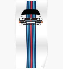 Póster Lancia Delta Martini Integrale