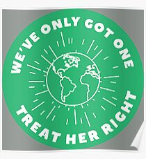 Treat Her Right (Mother Earth) Poster