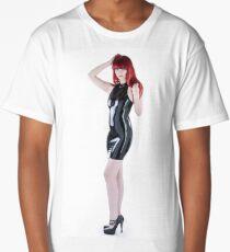 Latex fetish Studio Long T-Shirt