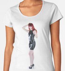 Latex fetish Studio Women's Premium T-Shirt