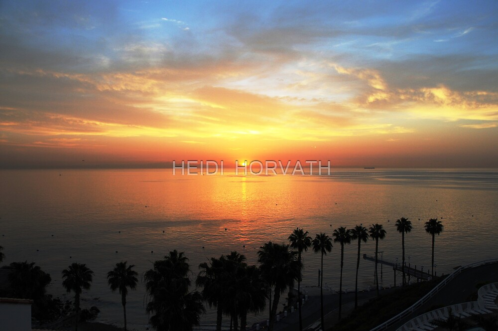 Start of a NEW DAY. by HEIDI  HORVATH
