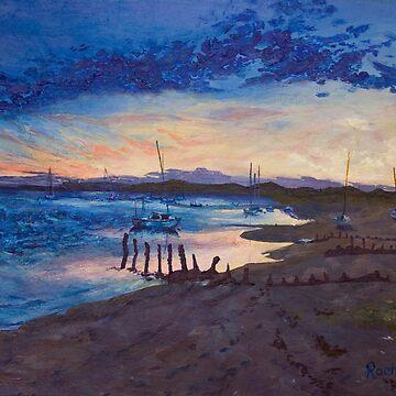 Estuary, Eventide by RachaelG