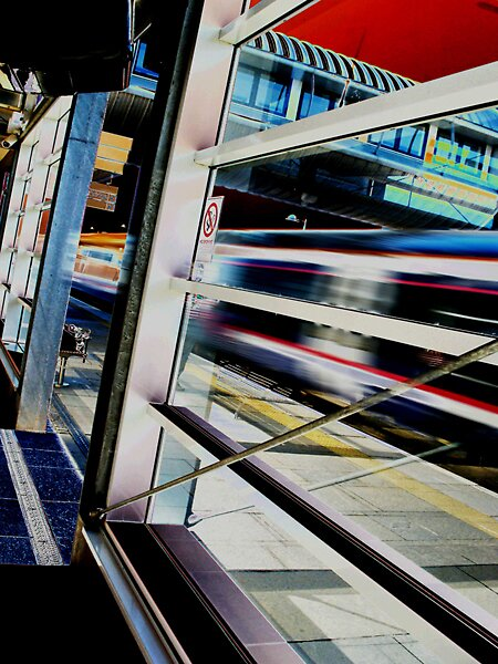 Edinburgh Park Station by milton
