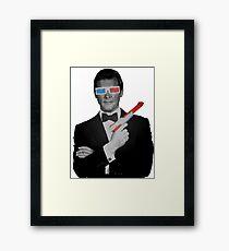 Agent 80's Framed Print