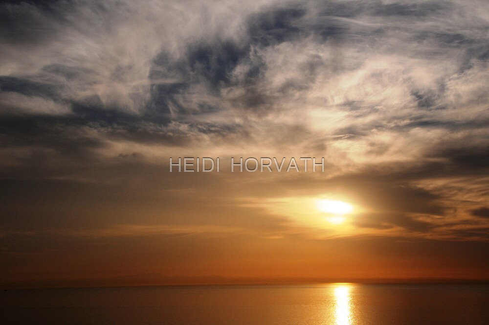 Above and Below - SUN by HEIDI  HORVATH