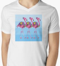 A Small Flock of Flamingos T-Shirt