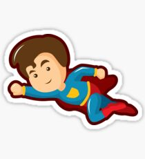 SuperHero Boy #1 Sticker
