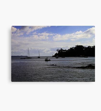An Early Start Canvas Print