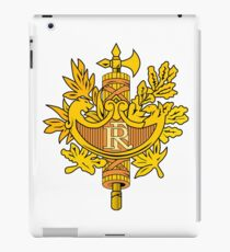 France Coat Of Arms  iPad Case/Skin
