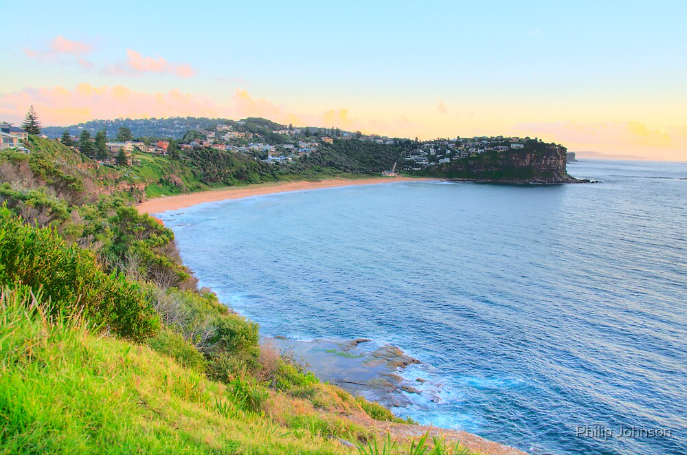 Bungan- Bungan Head Sydney Beaches - The HDR Series - Sydney, Australia by Philip Johnson