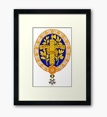 French Coat Of Arms Framed Print