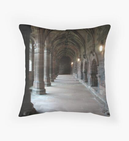 Chester Cloisters Throw Pillow