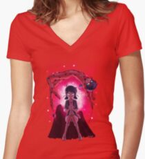 Lucky Charm! Women's Fitted V-Neck T-Shirt