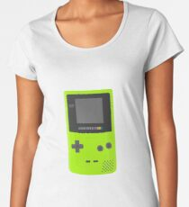Kiwi GameBoy Color Women's Premium T-Shirt