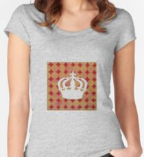 Crown Silhouette Women's Fitted Scoop T-Shirt