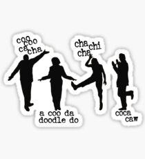 Arrested Development Bluth Family Chicken Dance Sticker