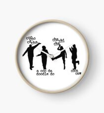 Arrested Development Bluth Family Chicken Dance Clock